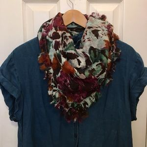 Madewell Abstract Floral Scarf